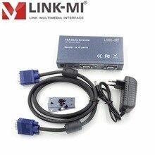 LINK-MI LM-108T 8-канальный сетевой видеорегистратор VGA видео и аудио передатчик
