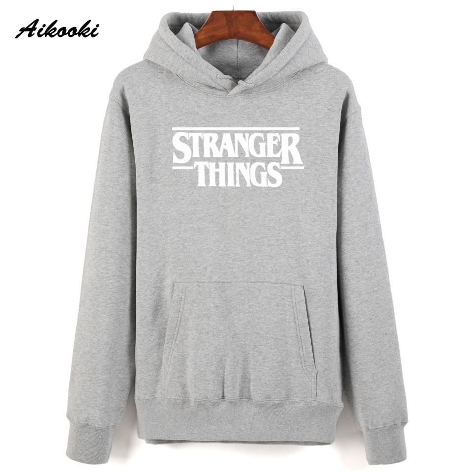 Hoodie Stranger Things Hoodies Sweatshirt women/men Casual Stranger Things Sweatshirts Women Hoodie Men's 34