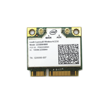 For Wireless-N Intel 2230 Mini PCI-E 300Mbps Wi-Fi + Bluetooth 4.0 Combo Adapter 2230BNHMW