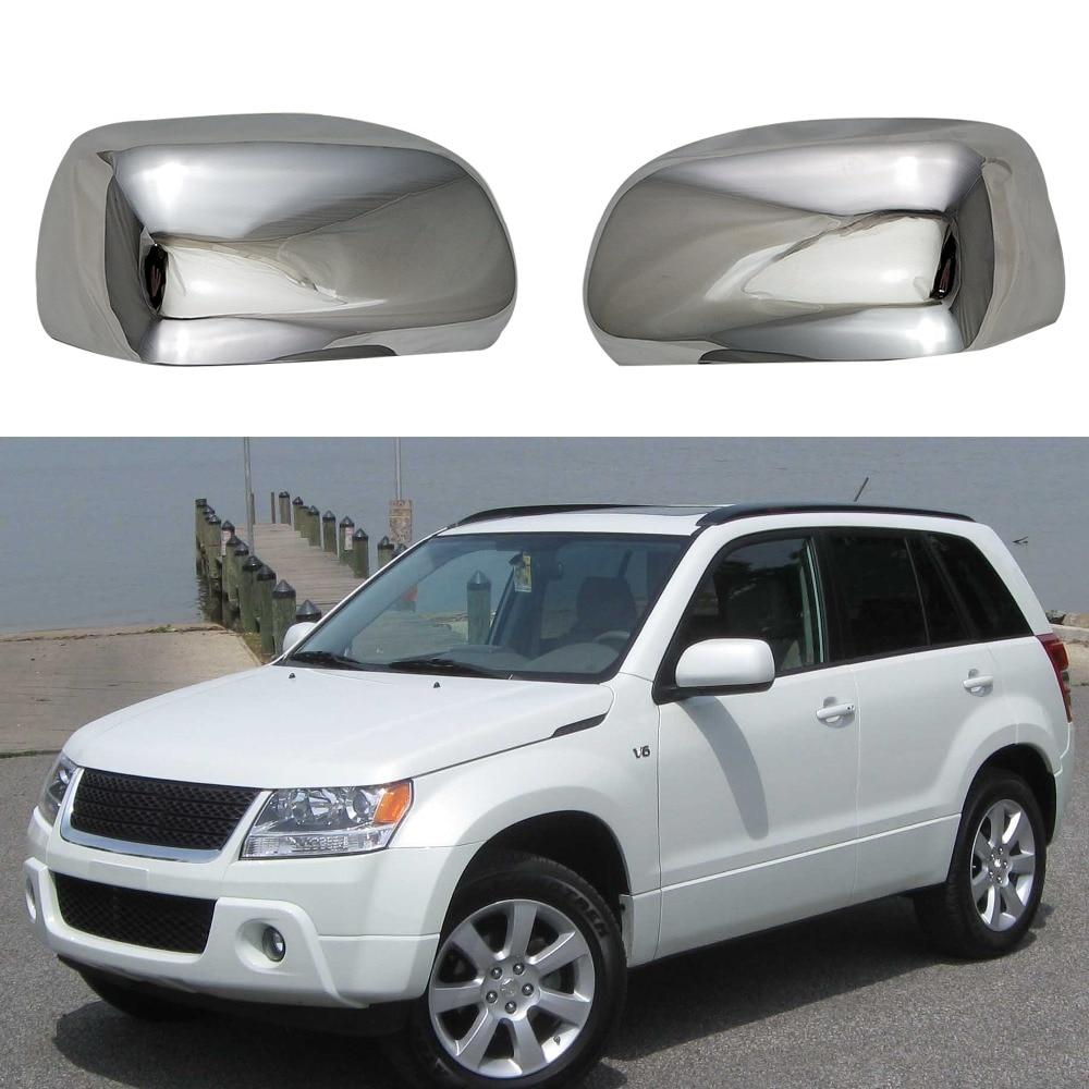 High quality ABS Chrome accessorie door Rearview door mirror covers For Suzuki Grand Vitara JT 2008 2014