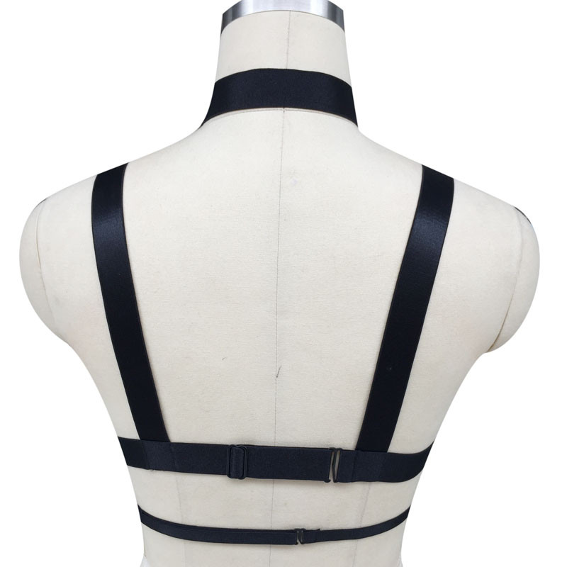 HTB1csoyJpXXXXX5XVXXq6xXFXXXx Hot Women Spandex Adjustable Bondage Cage Bra Harness For Women