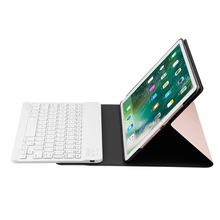 Luxury Tablet Case For iPad Air 1 Air 2 Pro  Bluetooth Keyboard Leather Stand Cover  For iPad 2017 2018 9.7'' with Pencil Holder цена в Москве и Питере