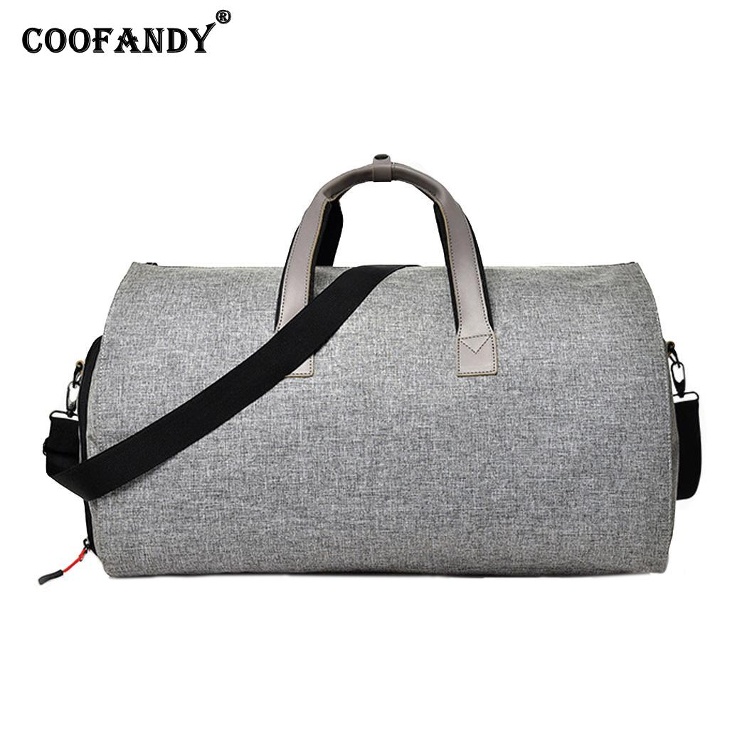 Waterproof Durable Gym Training Outdoor Business Travel Travel, Business, Fitness Handbag Zipper All Seasons