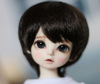 D01 P456 children handmade toy 1/4 1/6 Doll Accessories BJD/SD/MDD doll Short hair cute wig 1pcs