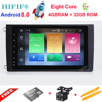 HIFIF Android 8 0 8 Core 8 Inch Car Player For Porsche Cayenne 2003 2004 2005