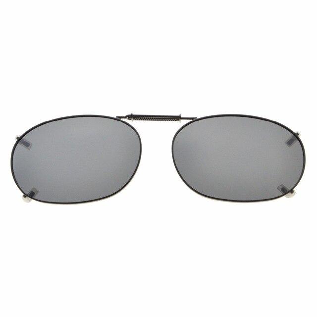 fce86c307b C73 Eyekepper Metal Frame Rim Polarized Lens Clip On Sunglasses 52x35MM