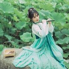 2019 new ancient chinese costume women clothes robes traditional beautiful hanfu dance costumes sobretudo feminino dress