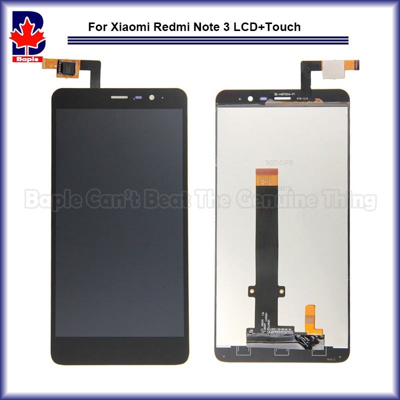 LCD Digitizer Display with Frame for Xiaomi Redmi Note 3 Prime Complete Touch Screen LCD Panel Display Replacement Parts