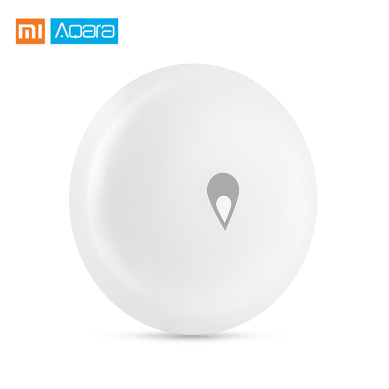 Xiaomi Aqara Smart Water Sensor Water Immersion Monitor Auto Alarm Via App Waterproof Home Security Intelligent Sensor