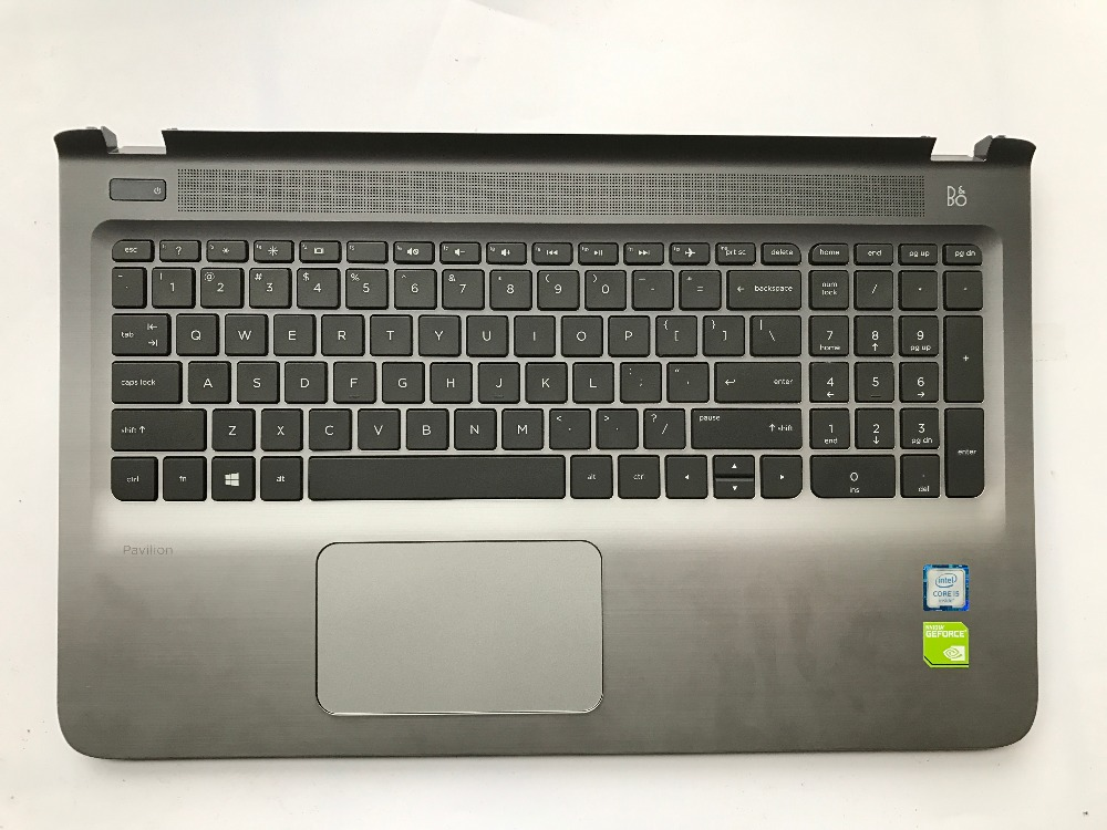US Keyboard For HP Pavilion 15-AB Keyboard without Backlit but Touchpad 100% Fully Tested Original&High Quality US Layout  Black backlit for hp omen 15 5006tx 15 5007tx 15 5008tx 15 5009tx 15 5010nr 15 5010tx 15 5011tx 15 5012tx canadian clavier keyboard