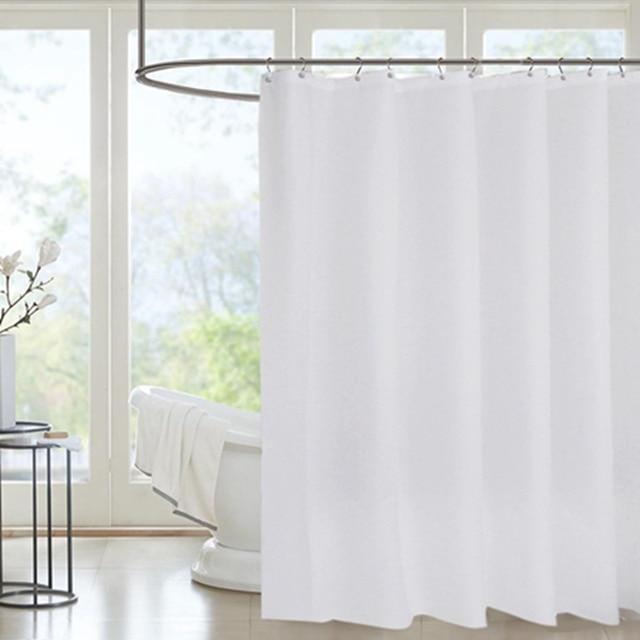 Billig Verkauf Dusche Vorhang Polyester Einfarbig Vorhänge ...