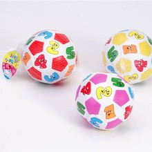 Детские маленькие футбольные мягкие для распознавания цифровые детские игрушки Колокольчик Обучающие Унисекс Мяч Для Жонглирования спортивные