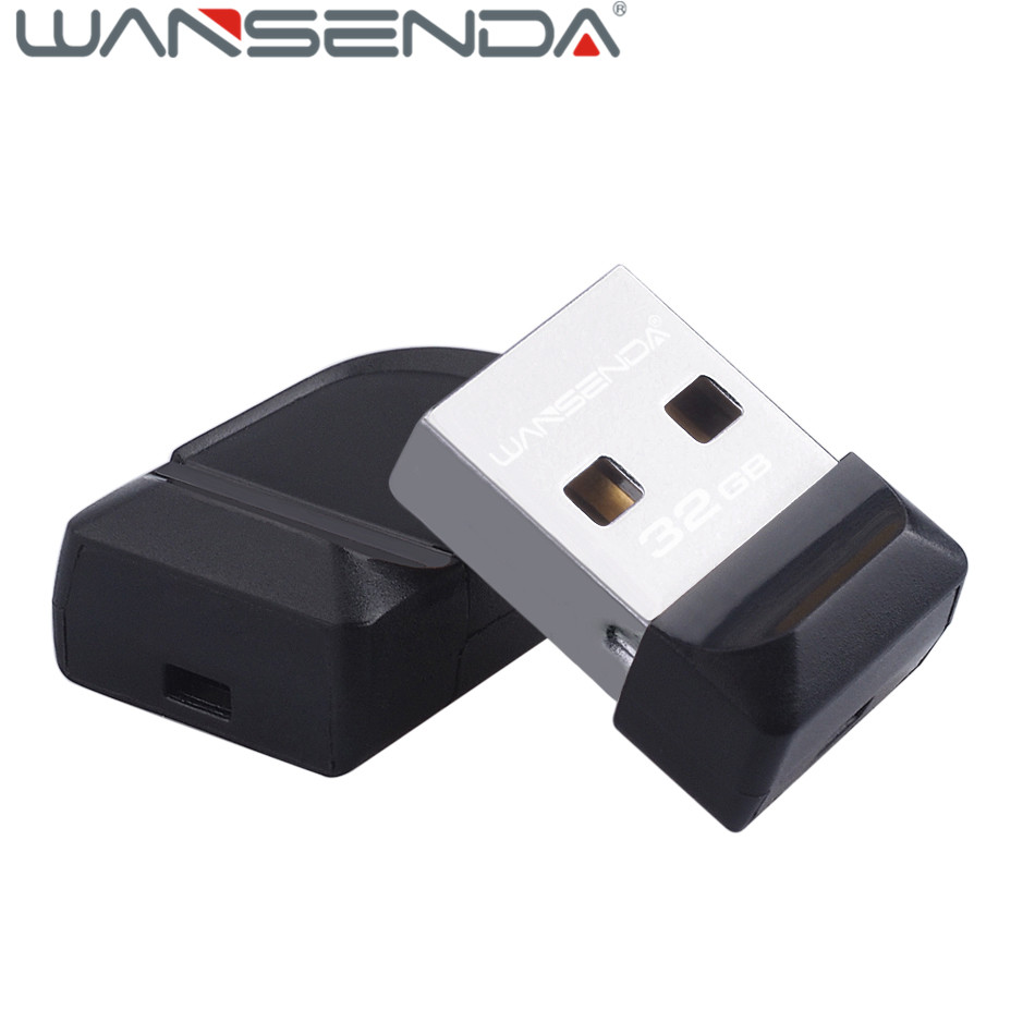 Hot Wansenda Pendrive USB Flash Drive U Disk 2.0 Waterproof Mini Pen drive 64GB 32GB 16GB U disk 8GB 4GB usb stick flash drive ice cream style usb 2 0 flash drive disk brown white 16gb