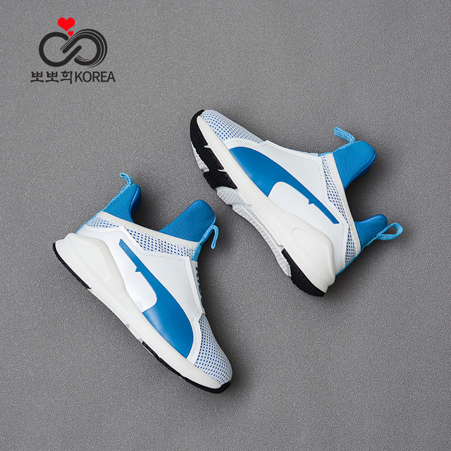 Children Sneakers Spring Autumn Mesh Breathable Shoes Girls Boys Casual Comfortable Shoes Anti-Slippery Sole Sport Sneakers kids