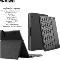 For Huawei MediaPad T3 10 Bluetooth Keyboard Leather Case For Huawei Honor Play Pad 2 9