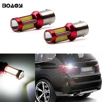 2x New White 1156 BA15S P21W LED Car Bulb Rear Reversing Tail Light For BMW 3/5 SERIES E30 E36 E46 E34 X3 X5 E53 E70 Z3 Z4 image