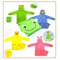 Capa de Chuva engraçado Crianças Bonitos Do Bebê Dos Desenhos Animados Brasão Chuva Crianças Rainwear À Prova D' Água