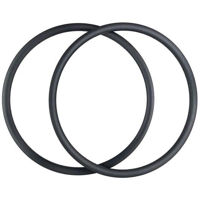 """29er AM אנדורו אופני הרי 35mm אסימטרית נימוק מכריע ללא פנימית פחמן חישוקים 24H 28H 32H 36H א. ד. 3K 12K 3.5mm אופסט 29 """"MTB גלגל"""