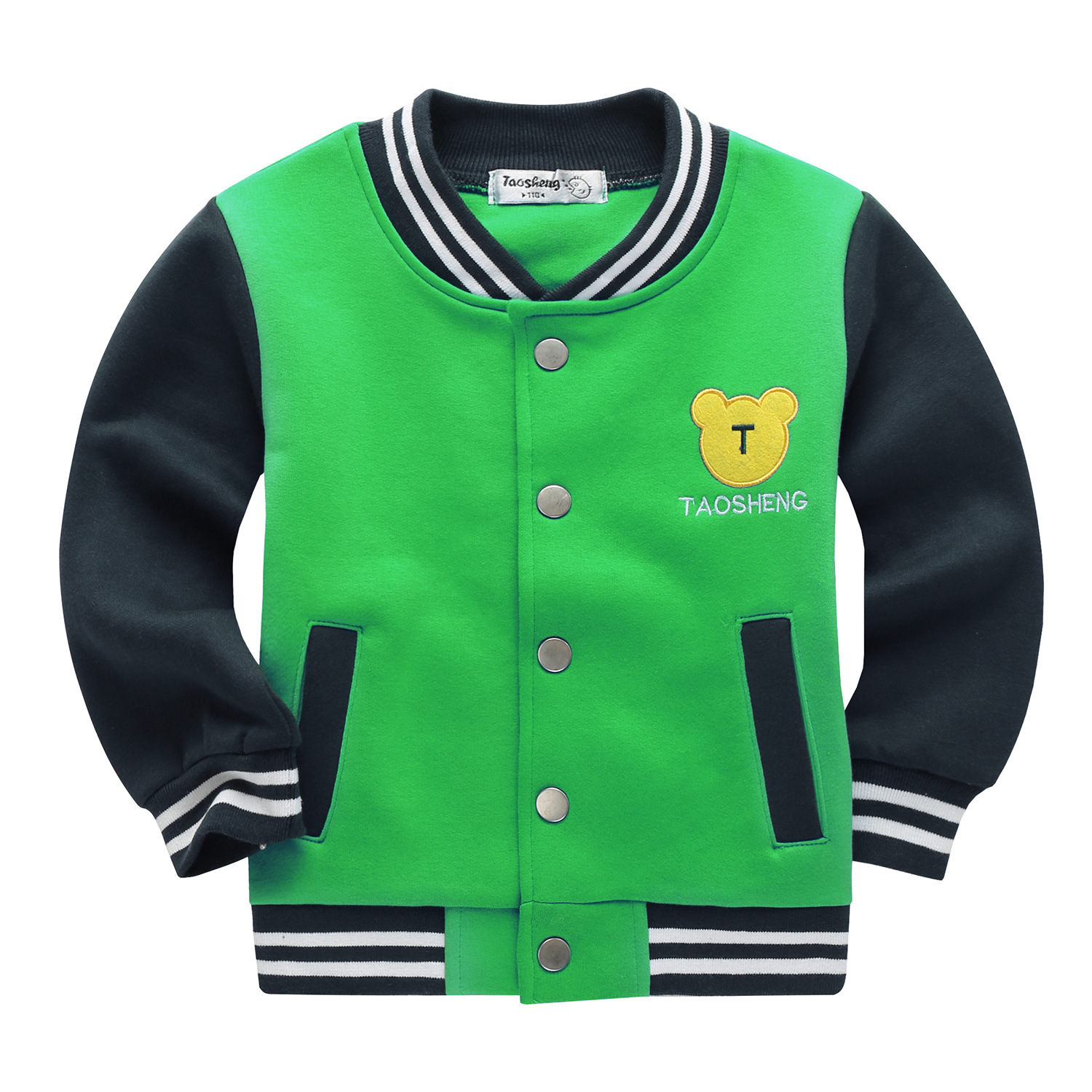 School Baseball Coats for Student Boys Girls Spring Jacket Children's Autumn Sports Basketball Running Clothes for Kids A73 5