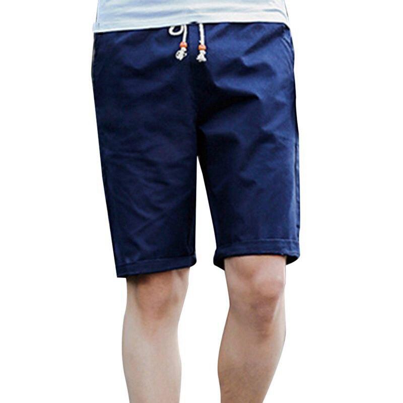 Cotton Shorts Cysincossummer Breathable Plus-Size Fashion-Brand New Male Casual Men