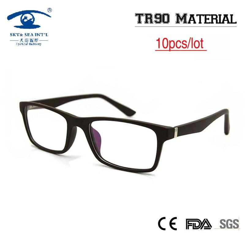 (10 pçs lote) Promoção Por Atacado Homens TR90 Memória Frame Ótico Óculos  Frames 71e67d7476