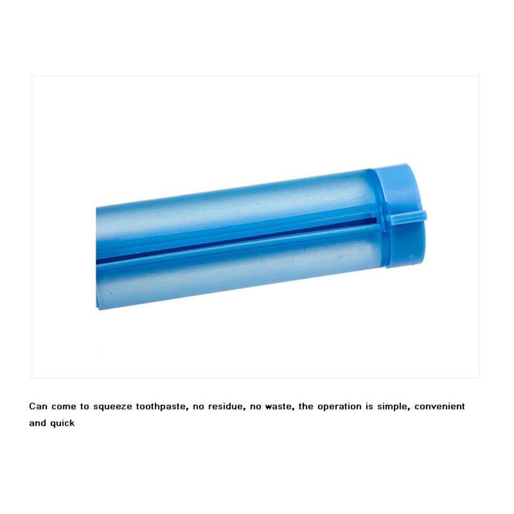 1 шт. ABS пластик 8*7,7*2,5 см висят с присоской крюк Пресс Зубная паста трубка диспенсер ванная комната прокатки зубная паста выжать