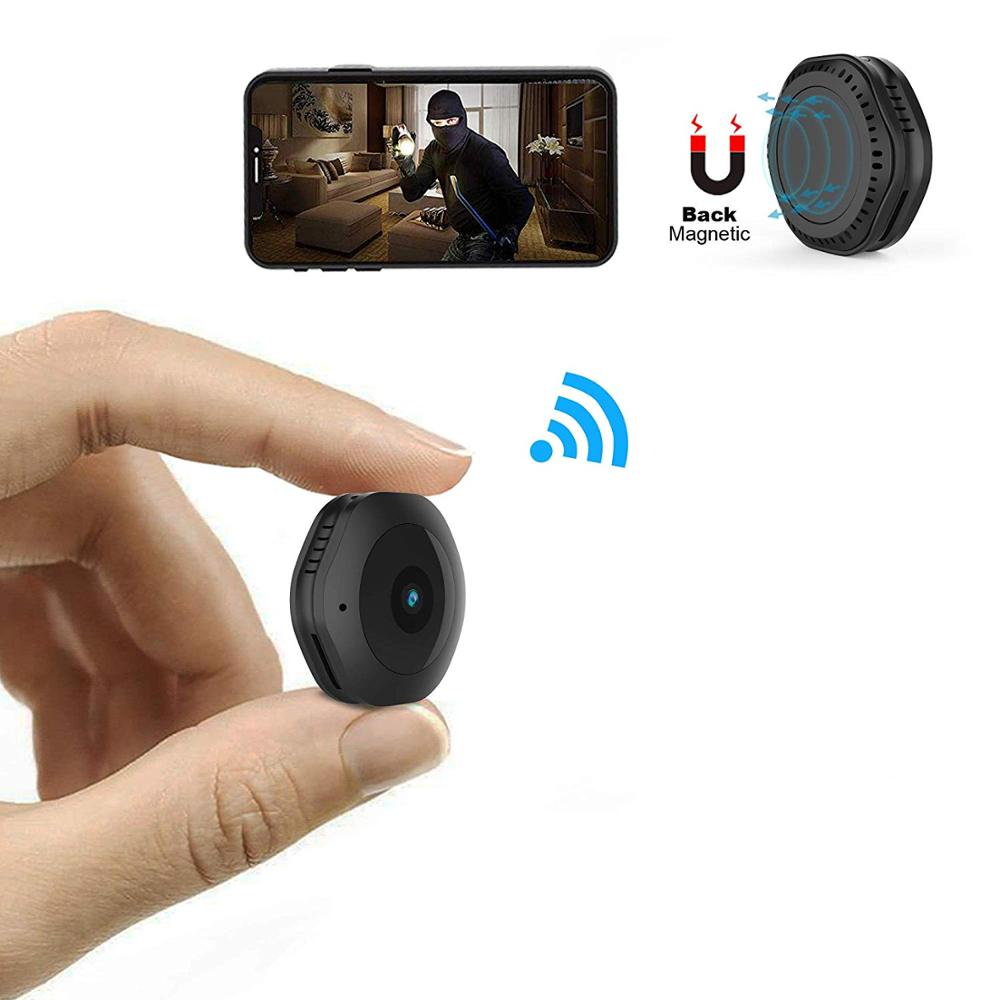 Mini WiFi Camera/DV  Wireless HD 1080P Portable Home Security Small Cam with Motion Activated/Night Vision|Baby Monitors| |  - title=