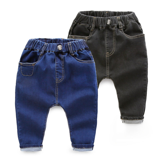boy child pants jeans spring cotton trousers New Kids baby pants