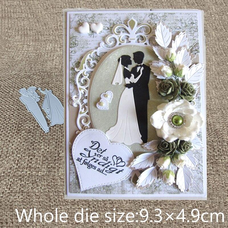 XLDesign ремесло резки металла высечки свадьба пара Любовник украшения альбом бумага карты ремесло тиснение высечки|Вырубные штампы|   | АлиЭкспресс