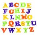 Moda Ímã de Geladeira Brinquedo da Criança Do Bebê Educacionais Alfabeto 26 Letras AZ Levert Dropship De Outubro de 18