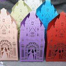 Творческая мечта замок любителей сладкого крух Резные Конфеты сумка брак очарование душ пользу Коробки Свадебная вечеринка подарок удержания мешок