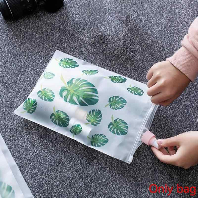 EVA Waterproof Sealed Bag Transparent Cosmetic Bag Travel  Zipper Make Up Organizer Storage Pouch