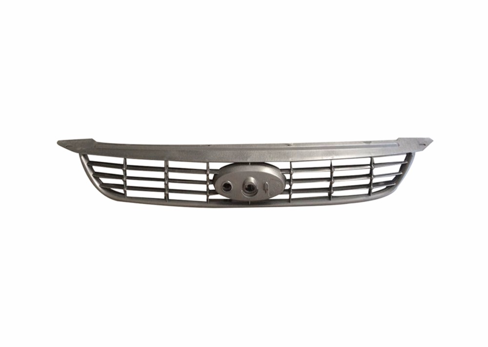 1Pcs Replacement Front Upper Bumper Mesh Grille Grill Grid For Ford Focus 2009 Sedan grey frp car grills front bumper grill grille for mazda 6 sedan 4 door only 2009 2013 gs gt i s
