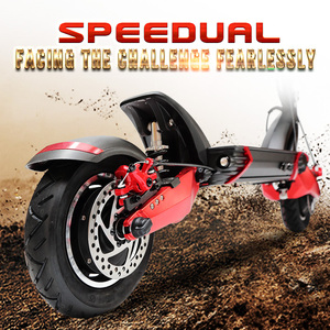 Macury Speedual 10 Inch Dual Motor Electric Scooter 52V 2000W Off-road E-scooter 65km/h Double Drive T10-ddm Zero 10X Off Road