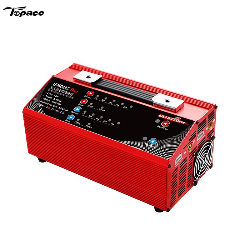 Original Ultra Spare Parts Ultra Power UP600 Duo 1200W 25A AC Battery Charger For FPV Drone