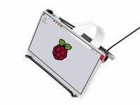 Waveshare Ahududu Pi için 7 inç IPS Ekran, DPI arayüzü, hiçbir Dokunmatik, 1024x600