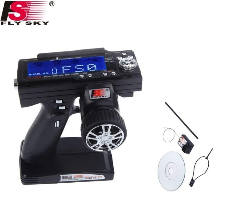 Flysky FS-GT3B FS GT3B 3CH Gun RC System Sender 2,4G Radio mit FS-GR3E Empfänger Für RC Auto Boot mit Led-bildschirm