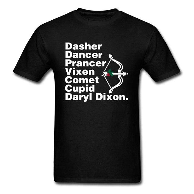 5b9693be396 Santa s Helper Men T-shirt Christmas Tops Couple Funny T Shirt Letter  Clothing Cupid Arrow Tees Xmas Gift Tshirts Black