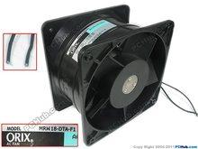 Emacro For ORIX MRW18-DTA-F1 AC 220V 0.40A 180x180x110mm 2-Wire Server Cooler Fan