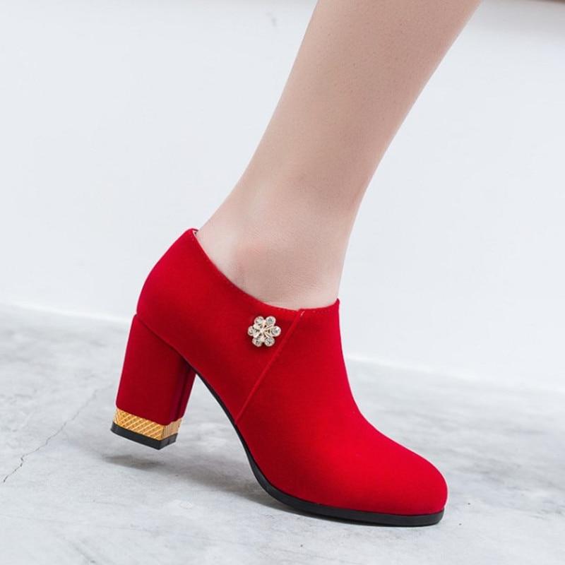 af37b4e624 Cristal Cómoda Tacón Elegante Nuevos Alto Bombas Plataforma Las Con red Zapatos  Primavera Grueso Mujeres Mujer 2019 Black Y De wx6gq8nqH