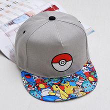 New Cool Pokemon Go Pikachu Baseball Caps Dancing Hip-Hop Hat Cap Snapback Unisex Hat