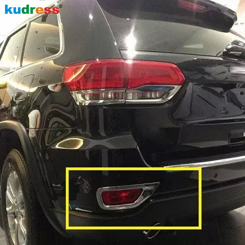 aliexpress com buy for jeep grand cherokee 2011 2012 2013 2014 2015 tail fog light lamp shades frames rear fog light lamp covers 2pcs set car cover from  [ 1000 x 1000 Pixel ]