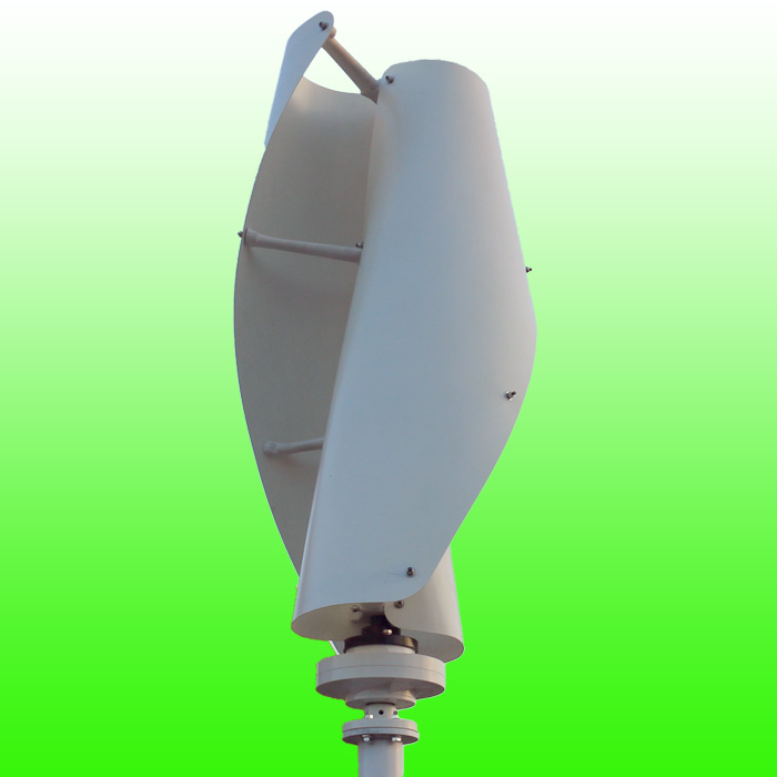 400W 600W Maglev Vertical Axis Wind Generator 12V 24V VAWT Wind Turbine Low Start Up Wind