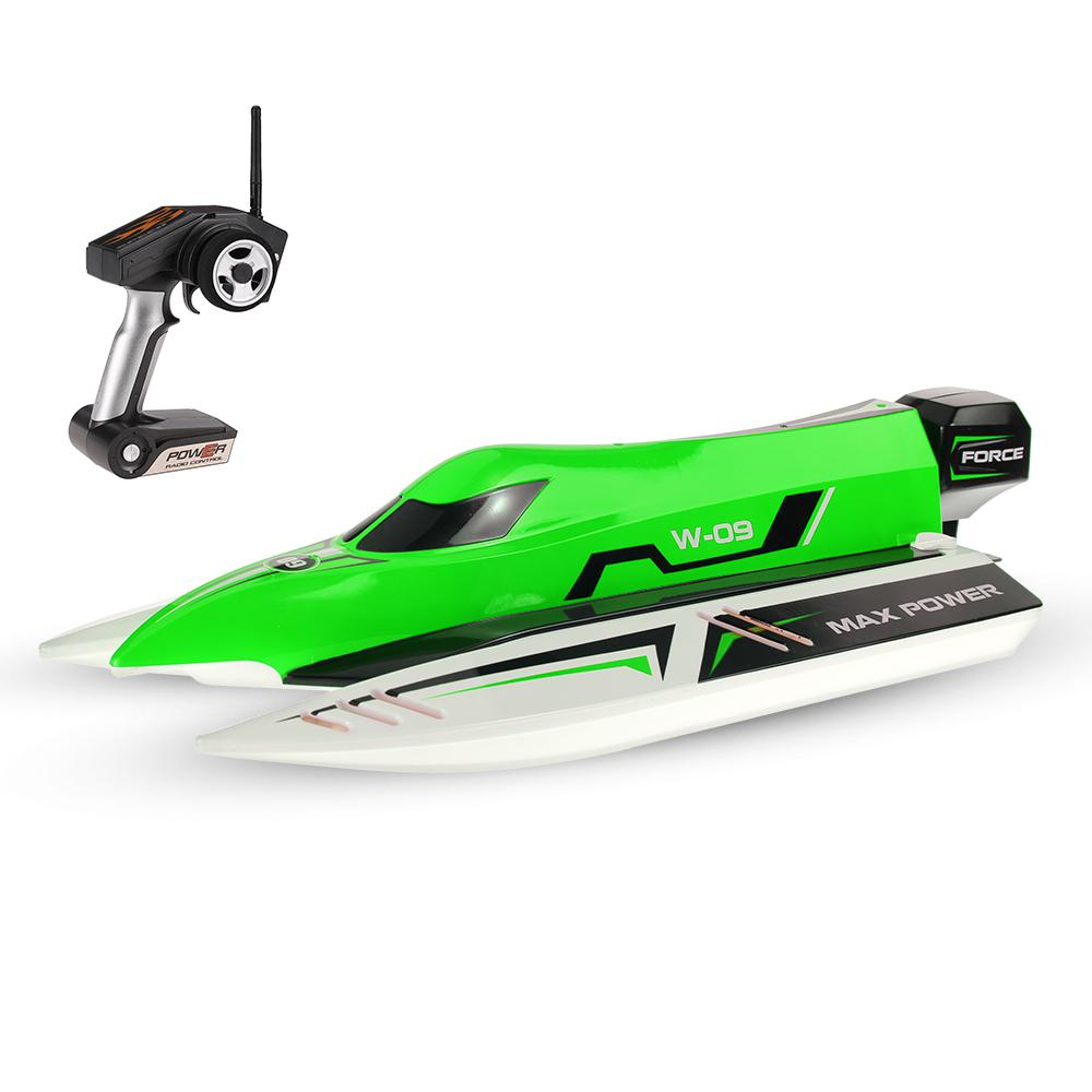 LeadingStar WL915 2.4Ghz2CH F1 45km/h Brushless High Speed Racing Boat Model RC Boat Speedboat Kids Gifts RC Toys zk49