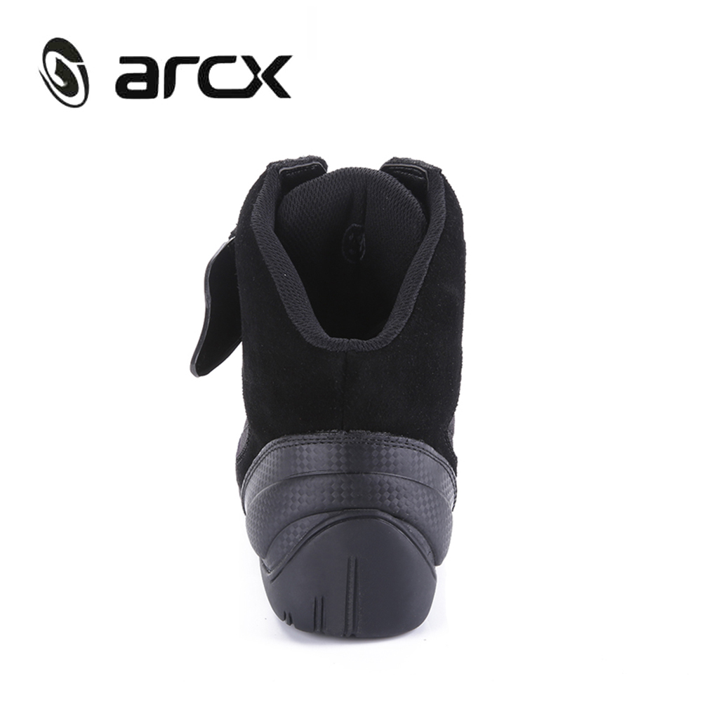 ARCX Motorcycle Boots Street Moto Racing Boots Genuine Cow Leather Motorbike Biker Chopper Cruiser Touring Ankle Shoes-in Motocycle Boots from Automobiles & Motorcycles    3