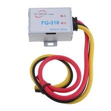 Автомобильный аудио фильтр усилитель подавитель шума редуктор gps головное устройство DC 12 В для стерео DVD алюминиевый корпус силовой кабель