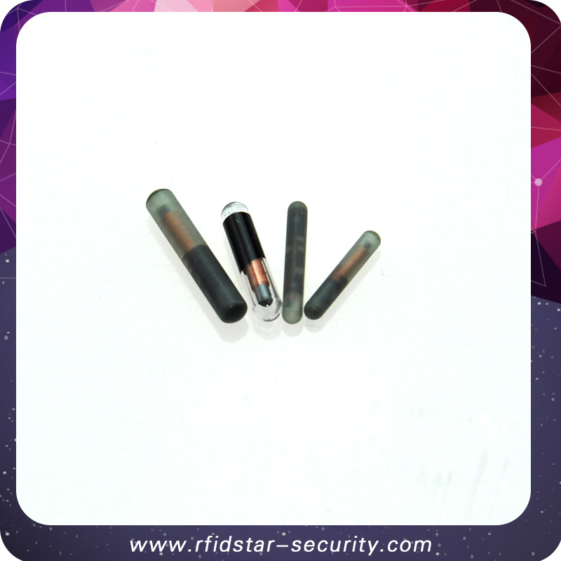 50PCS/Lot ISO11784/785 1.4*8mm 134.2KHz FDX-B Animal RFID microchip for Animal Identification 50pcs lot [50pieces lot] hd7406p dip14