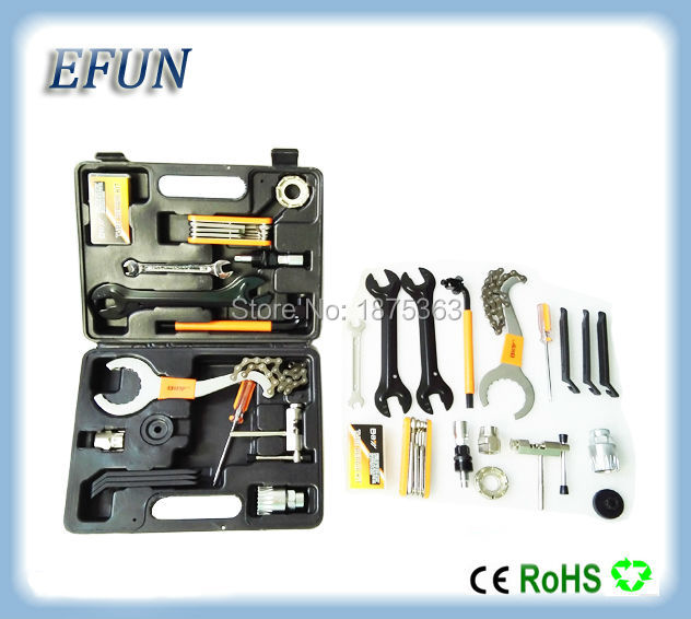 ФОТО Free shipping BBS01/BBS02/BBS03 8Fun/Bafang mid motor install tool box DIY ebike install tools kit set complete tools for bike
