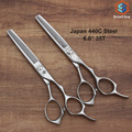 "Free shipping  6.0"" inch 35Teeth in 30% hair off   professional best selling Har thinning scissors in Japan 440C steel, S27-F635"
