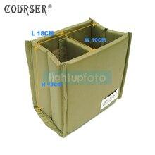 COURSERR Professional камера/Видео Сумки Складной раздел мягкий камера сумка Вставить DSLR делитель защитный чехол A-10